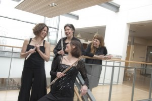 40F flute quartet
